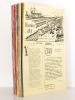 Histoires d'O. Les Trains [ Lot de 33 numéros du n° 1 de décembre 1983 au  n° 34 d'octobre 1990 sauf le numéro 29 ] Bulletin de liaison des amateurs ...