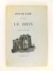 En voyage. Le Rhin. Dessins de Victor Hugo. HUGO, Victor