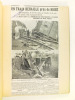 Lot de 25 dossiers recueillant des coupures de presse relatives à des catastrophes ferroviaires, entre 1935 et 1938 [ Contient notamment : ] Ligne ...