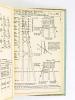 Notice technique V B 125 b N°3 Lignes électriques et leurs supports. Manuel pratique de construction des lignes aériennes de télécommunication et de ...