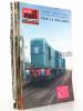 La Vie du Rail [ lot de 13 numéros avec des articles relatifs aux locomotives diesel françaises ] : n° 432 Alsthom construit à Belfort des locomotives ...
