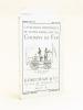 Catalogue historique de livres rares sur les Chemins de fer. Catalogue N° 9 - 1927. GUMUCHIAN & Cie