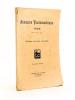 Annuaire Tauromachique 1925. Collectif ; DON CANDIDO ; AGUILITA ; ALVES MENEZES ; D'AQUA-VIVA ; DROP ; EL TIO CALVO ; Jean de LAHOURTIQUE ; LOU ...