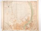 Plan de Bordeaux et de sa Banlieue dressé à l'échelle de 1/10.000e par Louis Longueville.  (Complet des 2 Parties). LONGUEVILLE, Louis
