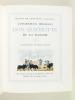 L'ingénieux hidalgo Don Quichotte de la Manche (4 Tomes - Complet) [ Livre signé par Henry Lemarié ]. CERVANTES SAAVEDRA, Miguel de ; (LEMARIE, Henry)