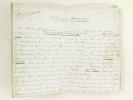 """Chronique Musicale. [ Manuscrit autographe signé de 12 pp. in-8, pour un article paru dans la Revue Européenne du 1er Juin 1860 ]  """"Le Théâtre-Lyrique ..."""