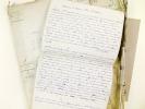 [ La fin d'une Dynastie de Libraire-Editeur : Importantes archives réunissant 7 dossiers manuscrits datés de 1887 à 1892 relatifs à la liquidation de ...