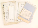 [ Important lot d'archives, correspondance et documentation réunis par l'écrivain Pierre de La Batut sur son aïeul le peintre Alexandre-Gabriel ...