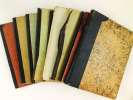[ Remarquable lot de 10 cahiers manuscrits autographes  : Journaux intimes, Poèmes et Notes de romans ] I : Cahier de 70 feuillets contenant : ...