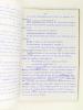 La Fille aux Diables [ Tapuscrit enrichi de très nombreuses corrections autographes. On joint une Lettre signée adressée à l'auteur par Georges ...