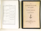 Les arsenaux de la Marine (2 Tomes - Complet) I : Organisation administrative ; II : Organisation économique, industrielle et militaire. GOUGEARD, M.