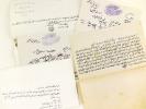 Correspondance égyptienne en arabe et en français datée de juillet 1893, adressée à un Comte (vraisemblablement le Comte de La Borie de La Batut) [ 2 ...