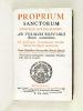 Proprium Sanctorum Dioecesis Burdigalensis ; Ad formam Breviarii Romani accomodatum. Ex praescripto Conciliorum Provincialium Burdigalae habitorum. ...
