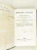 Biographie Littéraire de Jean-Baptiste-Modeste Gence, ancien archiviste au dépôt des Chartes, éditeur et traducteur du Livre des Consolations ...