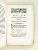 Mémoires historiques, critiques et politiques de la Révolution de France, avec toutes les Opérations de l'Assemblée Nationale (Tome Premier). N. J. ...