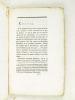 [ Recueil de 14 Discours originaux de Sébastien Bottin sur la période 1796 - 1799 : ] Discours prononcé par Mr Bottin, Curé de Favières, lors de la ...