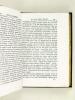Riflessioni Filosofiche, e Politiche sul Genio, e Carattere de' Cavalieri detti Serventi secondo le Massime del Secolo XVIII. ANONYME ; [ MAMACCHI, ...