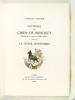Histoire du Chien de Brisquet. Le Génie Bonhomme.. NODIER, Charles
