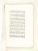 Recherches sur Montaigne. Documents inédits recueillis et publiés par le Dr. J. F. Payen. N°4 [ Edition originale ] Examen de la vie publique de ...