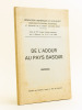 """De l'Adour au Pays Basque. Actes du XXIe Congrès d'Etudes régionales tenu à Bayonne, les 4 et 5 mai 1968. """"Collectif ; Fédération Historique du ..."""