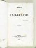 Monsieur de Talleyrand (Tome 2). CATHERINET dit DE VILLEMAREST, Charles-Maxime