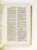 Repertorium seu Index Generalis Rerum Notabilium quae in operibus Antonij Gometij Tractantur. Tam in Libro Variarum Resolutionum, quam in Comentariis ...