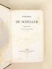 Oeuvres de Schiller (8 Tomes - Complet) I : Poésies de Schiller ; II : Théâtre de Schiller 1 ;III : Théâtre de Schiller 2 ;  IV : Théâtre de Schiller ...