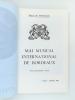 Mai Musical International de Bordeaux ( lot de 19 années consécutives : 1970 à 1988 ) : 1970 vingt-et-unième année ; 1971 ; 1972 ; 1973 ; 1974 ; 1975 ...