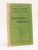 Les Sonnettistes Algériens. I : Trente deux sonnets de Léo Loups - André Rinaldy - L. Rebon - Jean Armani - Mme de Latour d'Auribeau - Albert Lentin - ...