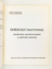 Bordeaux Saint-Christoly : Sauvetage archéologique et histoire urbaine (Hôtel de Ville de Bordeaux, 10 décembre 1982 - 9 janvier 1983). Musée ...