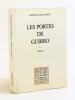 Les Portes de Gubbio [ Livre dédicacé par l'auteur ]. SALLENAVE, Danièle