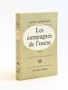 Les Campagnes de l'Ouest [ Exemplaire abondamment corrigé et annoté par l'auteur ]. DESBRUERES, Michel