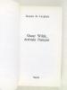 Oscar Wilde écrivain français [ Livre dédicacé par l'auteur ]. LANGLADE, Jacques de