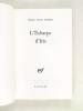L'écharpe d'Iris [ Edition originale - Livre dédicacé par l'auteur ]. GURMEN, Osman Necmi