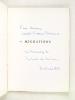 Migrations [ Edition originale - Livre dédicacé par l'auteur ]. DE LA CROIX, Robert