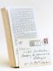 Le plus clair de mon temps 1926-1987 [ Avec une belle lettre autographes signée de l'auteur ]. MAC'AVOY, Edouard