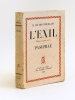 L'Exil. Pièce en trois actes - Pasiphaé [ Livre dédicacé par l'auteur ]. MONTHERLANT, Henri de