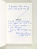 Orphée [ Livre dédicacé par l'auteur ]. DURRY, Marie-Jeanne