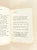 Chansons pour Toi  [ Edition originale - Livre dédicacé par l'auteur ]. SYLVAIRE, Jean