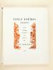 Images et Poèmes : Vingt poèmes inédits ornés d'images dessinées sur pierre par René Demeurisse [ Edition originale ]. Collectif ; Pierre CAMO ; ...