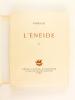 L'Enéide (2 Tomes) - Bucoliques et Géorgiques - De Natura Rerum. VIRGILE ; LUCRECE