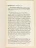 Une période de sécheresse inhabituelle en Polynésie française (du 1er janvier 1972 au 31 janvier 1973). CHEVRE, H. ; BACARA, J. ; Direction du Service ...
