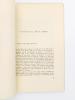 Plaisir du rail - recueil de notes de voyages et d'impressions poétiques en hommage au chemin de fer et à tous les cheminots. VILLETTE, Jean