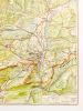 Wanderkarte 1:50 000 - Garmisch-Partenkirchen, Mittenwald, Oberammergau und Umgebung und mit dem Ortsplan von Garmisch-Partenkirchen. Coll.