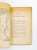 Le Canal des deux mers ( extrait de la revue de l'Afrique Française ). WICKERSHEIMER, E. ( Emile-Charles )