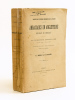 Ambassades en Angleterre de Jean du Bellay. La première ambassade (septembre 1527 - Février 1529). Correspondance diplomatique. BOURRILY, V. L. ; DE ...
