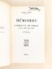 Mémoires. L'épreuve de force Février 1938 - Août 1945. EDEN, Anthony