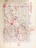 [ Lot de 13 cartes de l'Algérie annotées, provenant de la bibliothèque de l'aumônier des 1er et 2e R.E. de la 13e Demi Brigade de la Légion Etrangère ...