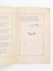 Hymne à la patrie et à ses défenseurs (par E. Caugne, principal du collège de Luçon, juin 1919 ). CAUGNE, E. [ CAUGNE, Emile ]