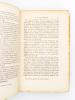 Lettres politiques confidentielles de M. de Bismarck, 1851 - 1858. M. de BISMARCK ( BISMARCK, Otto von ) ; POSCHINGER, Henri de (édit.) ; LANG, E. B. ...